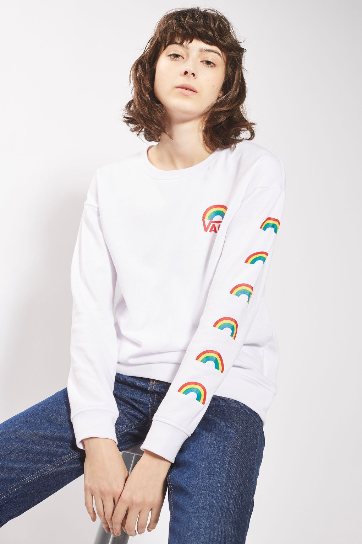 3947ab54f4 Rainbow Sweatshirt by Vans - New In- Topshop Europe