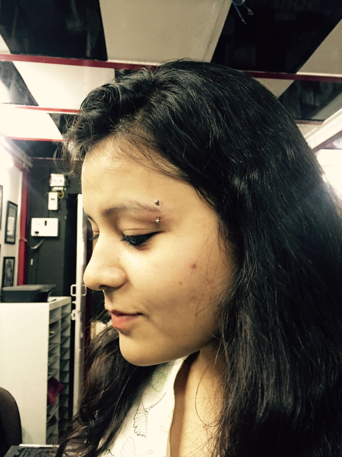 Closed nose piercing  MUMBAI TATTOO mbaitattoo Mr Nadeem