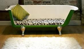 Vasca Da Bagno Vintage : Come trasformare una vasca da bagno vintage in un divano super cool