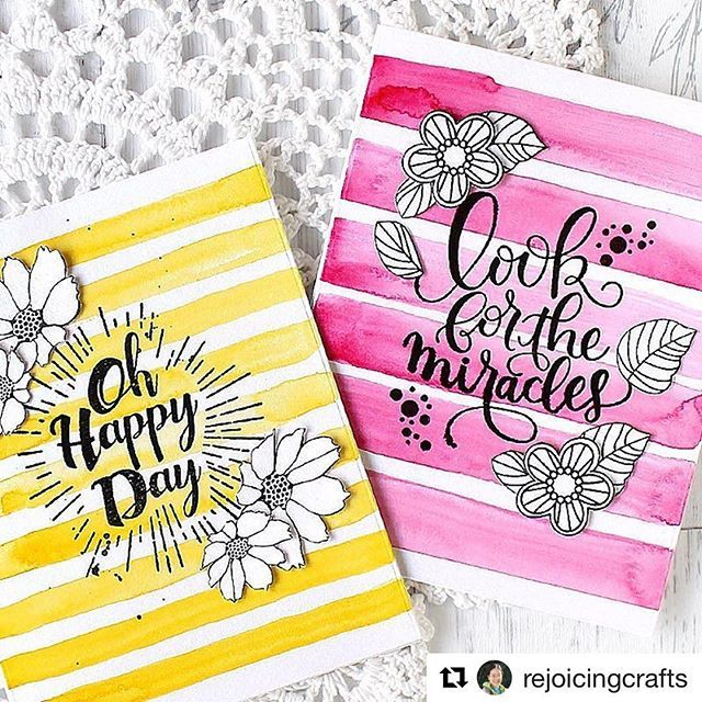 #Repost @rejoicingcrafts with @repostapp ・・・ Watercolour stripes make the focal point shine!  #simonsaysstamp #masterpiecebox #watercolor #stripes #papercraft #cardmaking #stamping #handmade #card #stamp #핸드메이드 #카드 #스탬핑 #워터칼라 #카드메이킹 #papercrafting #sssck