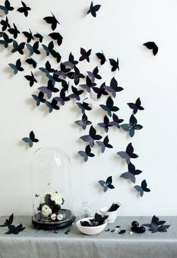 Muurdecoratie Vlinders Zelf Maken Zelf Maken Op De Site Staat Precies Uitgelegd Hoe Kies Je Eigen Kle Handgemaakte Decoratie Kamer Ideeen Diy Muurdecoratie