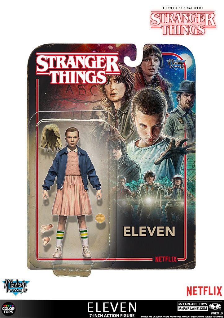 Dustin Action Figure Stranger Things 2 Mcfarlane Toys