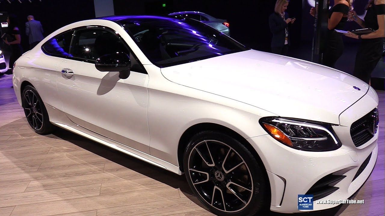 2019 Mercedes Benz C Class C300 Coupe Exterior And Interior
