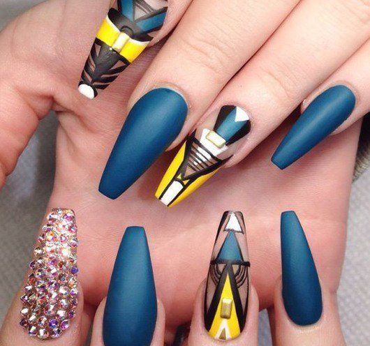 100 Creative And Unique Nail Art Ideas And Designs Pinterest