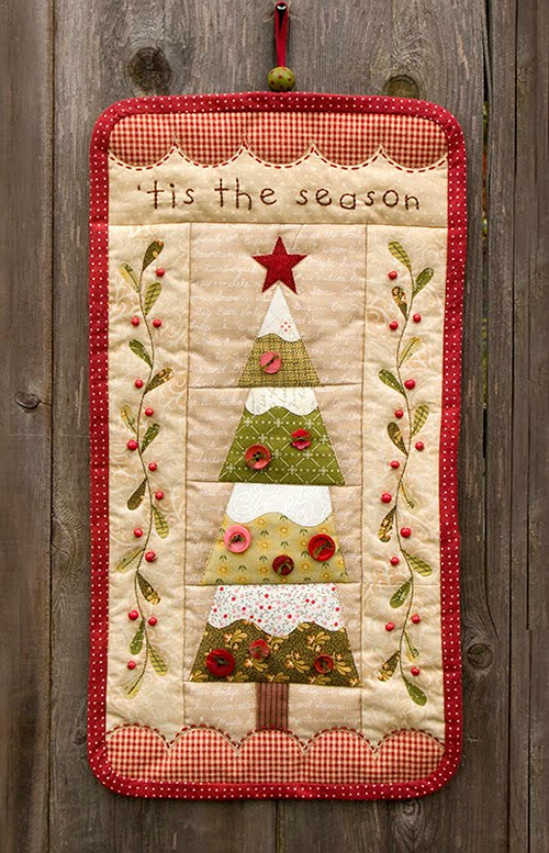 Tis the Season Quilted Wall Hanging Pattern | Quilts | Pinterest ... : tis the season quilt book - Adamdwight.com