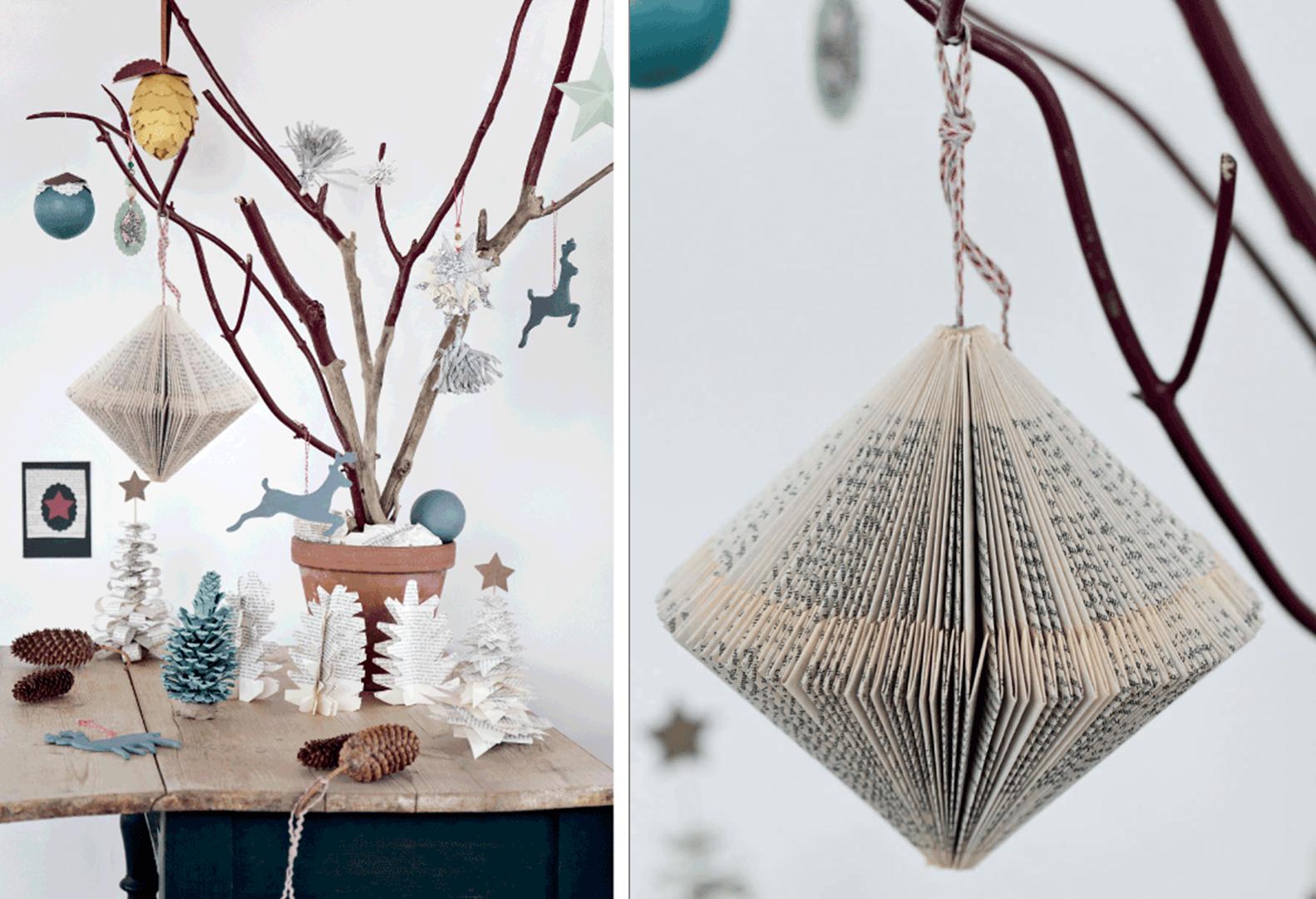 Manualidades #navidad #papel | DIY | Pinterest | Adornos de navidad ...