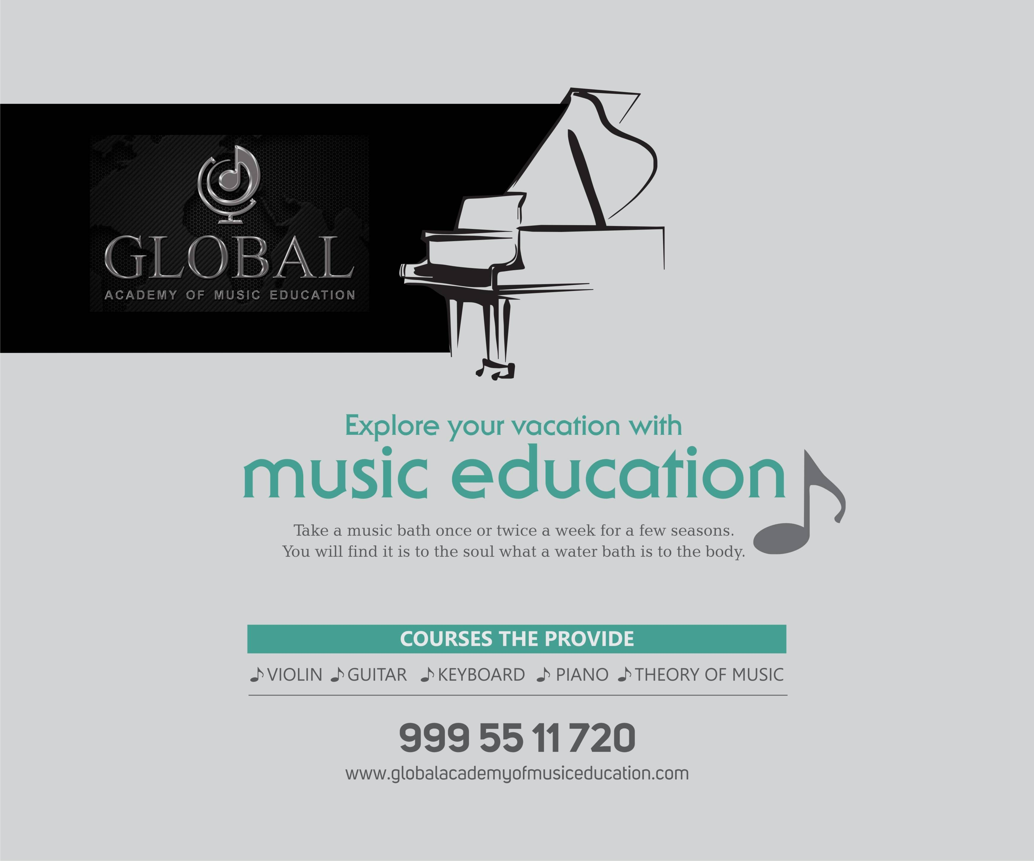 Vacation Music Class- 2018 Admissions Open! Apply Now :http://www ...