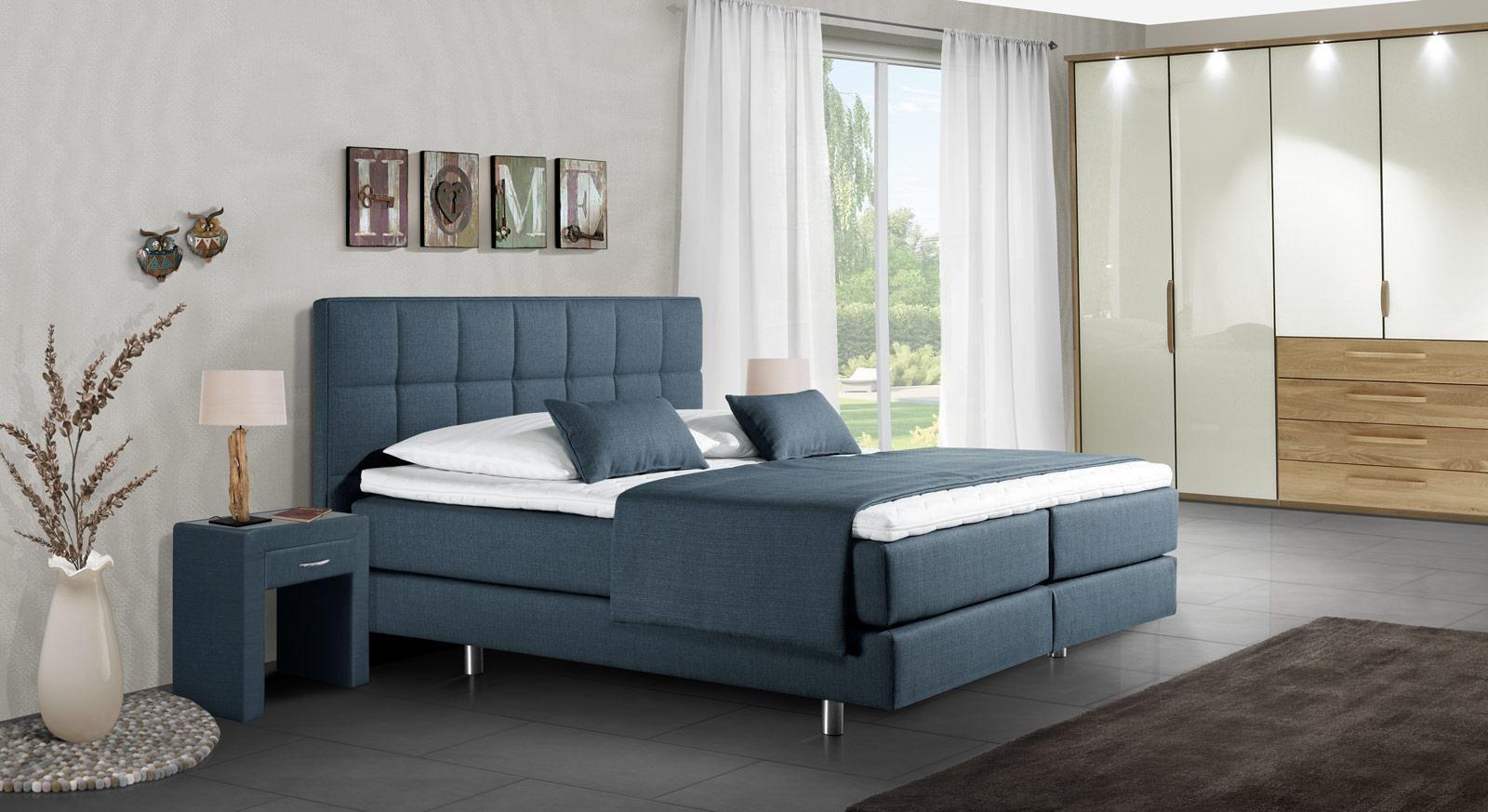 Schlafzimmer Mit Boxspringbett Das Schlafzimmer Bett