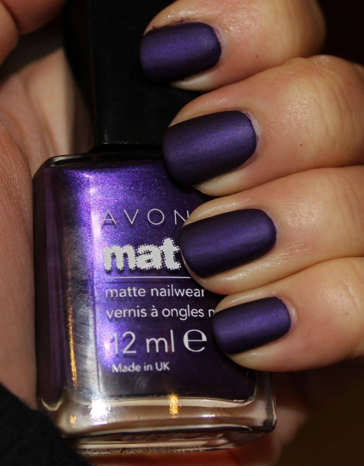 Avon Violetta Matte   Make up and nails   Pinterest   Púrpura ...