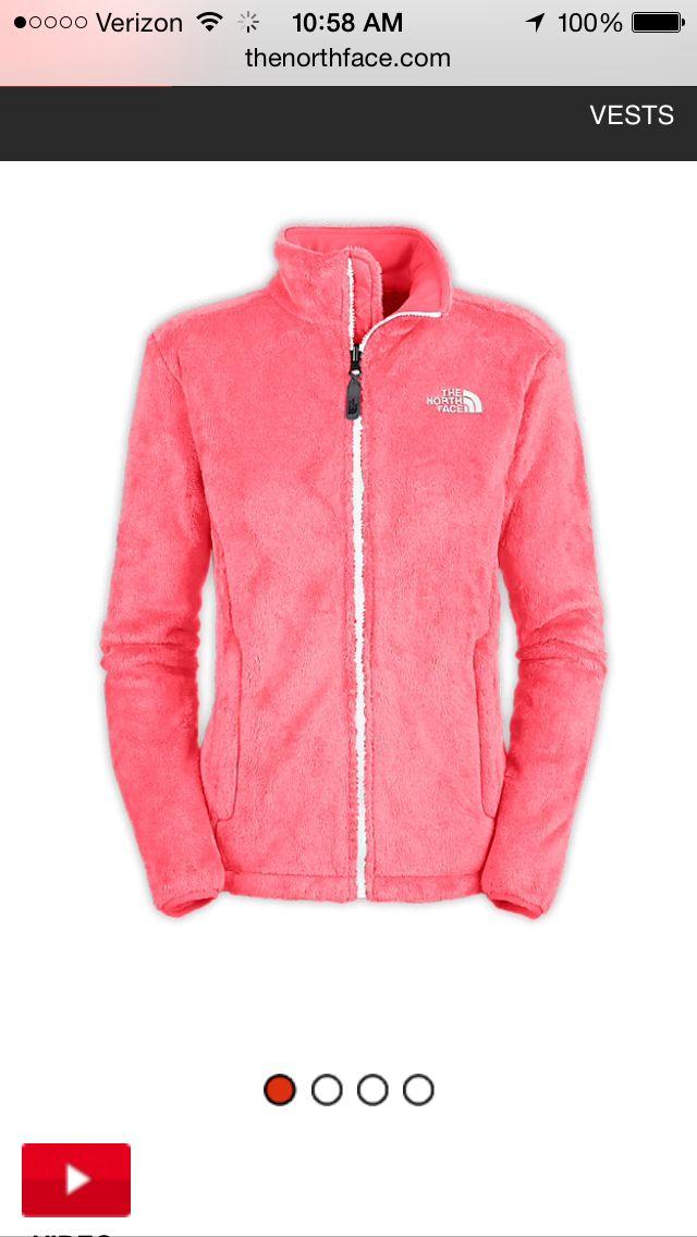 8b9861b7e North Face sugary-pink Osito Jacket | MY STYLE | North face jacket ...