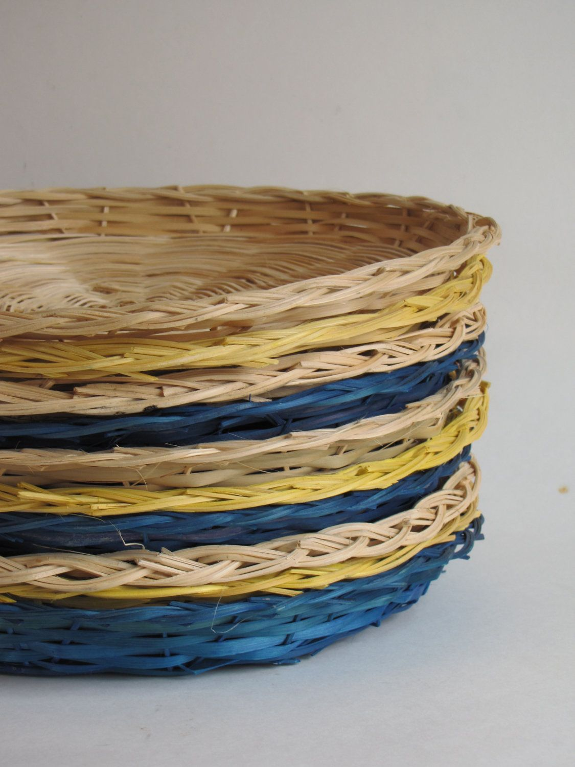 rattan paper plate holders my memories home town pinterest plate holder. Black Bedroom Furniture Sets. Home Design Ideas
