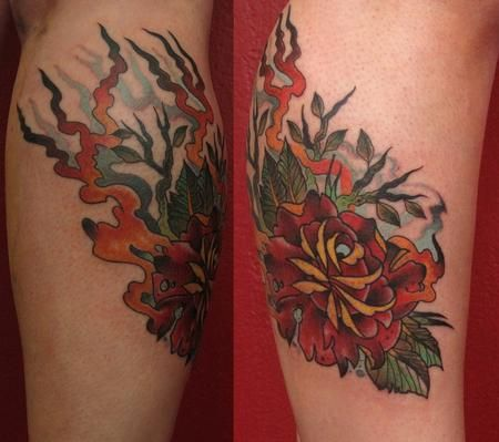 Tattoos Tattoos Traditional Japanese Neo Tradtional Rose On