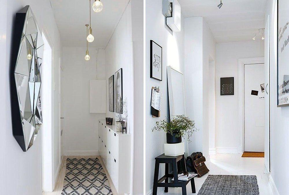 trucos para pintar un pasillo estrecho y sin luz