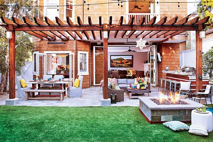 How to Design the Best Backyard for Entertaining #backyardremodel