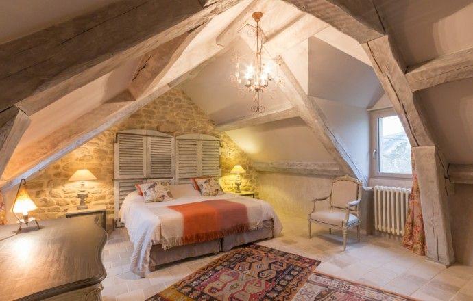 chambre avec lit king-size   Combles   Pinterest   Bretagne