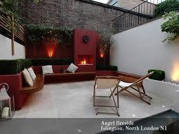 small garden in London