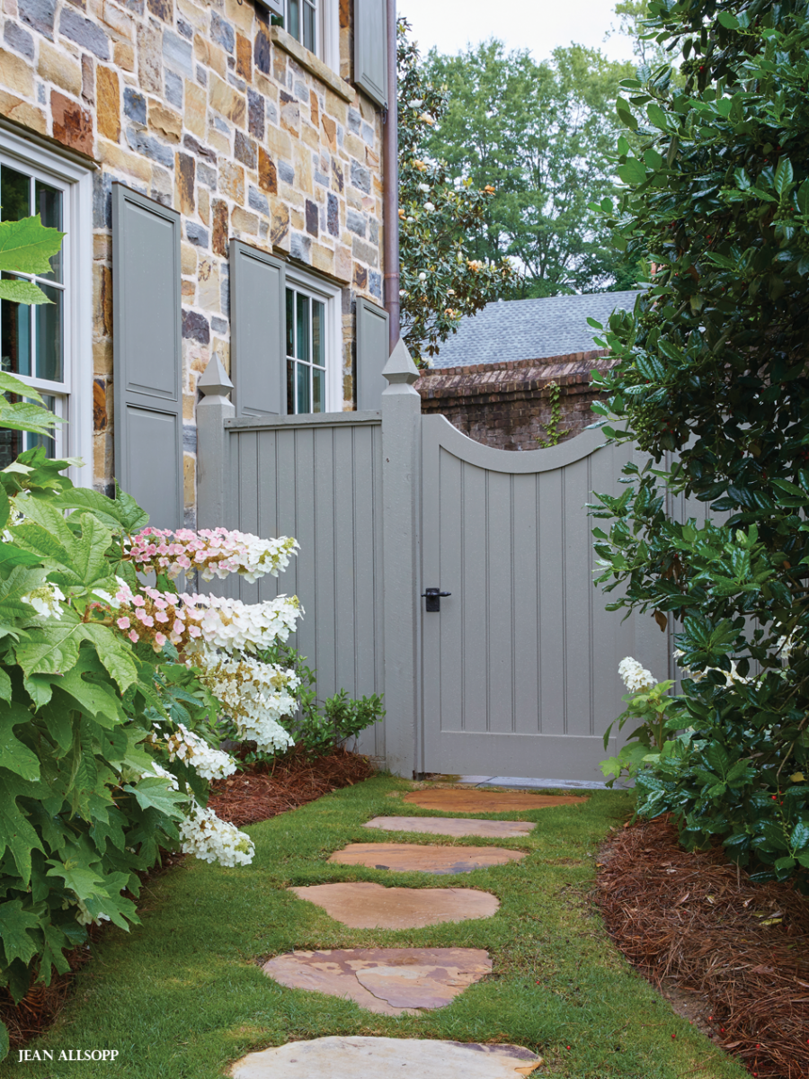 Beyond The Gate Landscape Steps Garden Gates Backyard 400 x 300