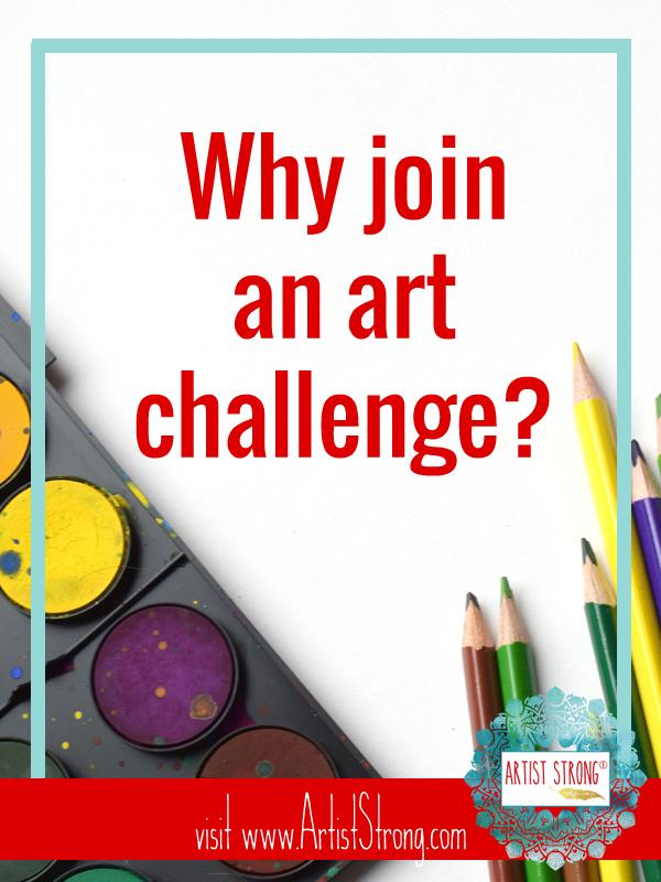 Why Join An Art Challenge Artist Strong Art Challenge Art Teacher Resources Online Art Classes
