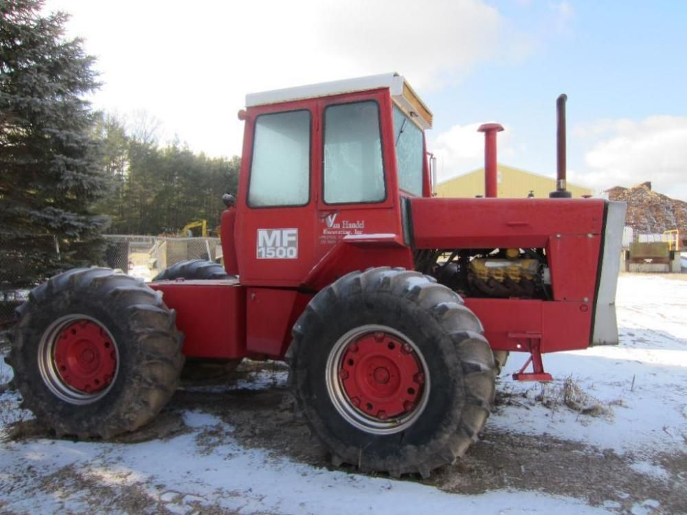 Massey Ferguson 1500 Tractor ONLINE ONLY AUCTION