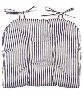 Ticking Stripe Chair Pad Have Been