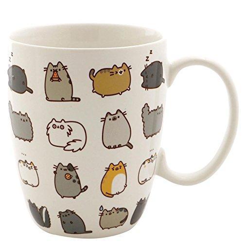 Pusheen Coffee Mug And Coaster Gift Set Pucheen Mugs Pusheen