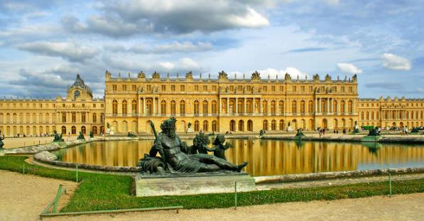 Palace of Versailles by Louis Le Vau