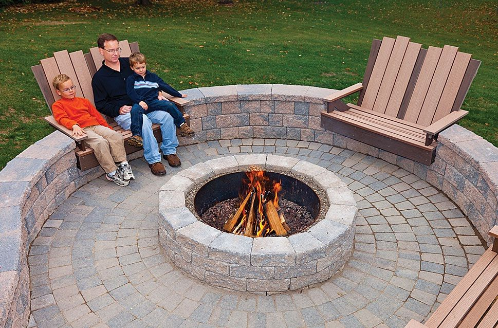 Awesome 8 Guides How To Build Stone Patio With Fire Pit Featured On Tbld.org.