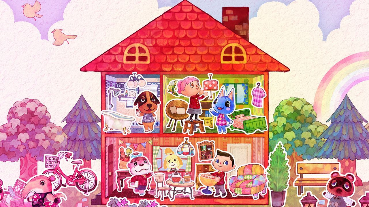 Beau Animal Crossing: Happy Home Designer Review: Playing House