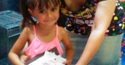 Niña de 4 años dona dinero de su cumpleaños para pequeños con cáncer