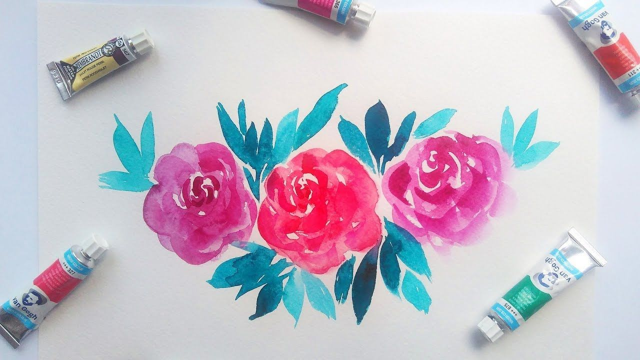 Pin On Watercolor Illustration And Painting Tutorials