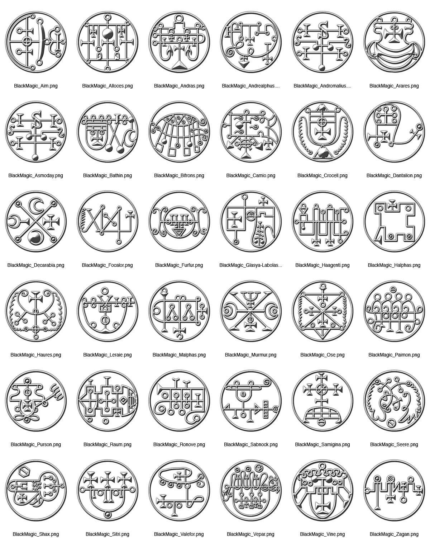 Dundjinni Mapping Software Forums Black Magic Symbols