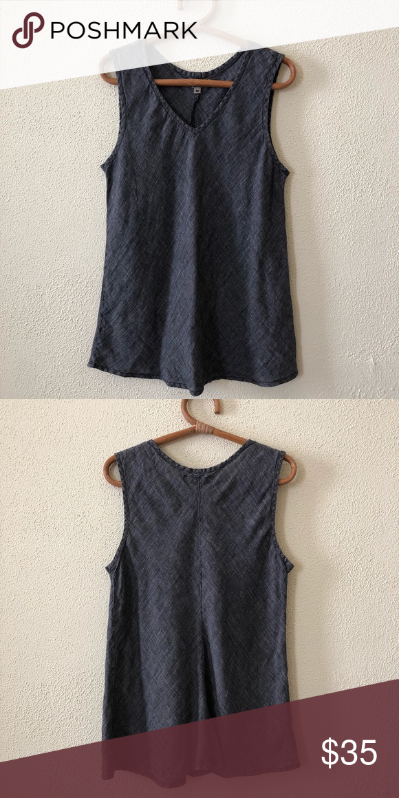 Flax Linen Tank M Clothes Design Fashion Plus Fashion