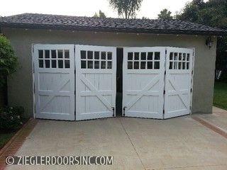 Side Folding Garage Doors Carriage Garage Doors Folding Garage