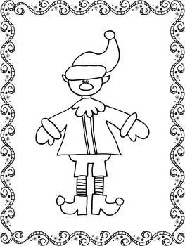 Reindeer Mini Fun Pack with coloring pages!! Santa asked