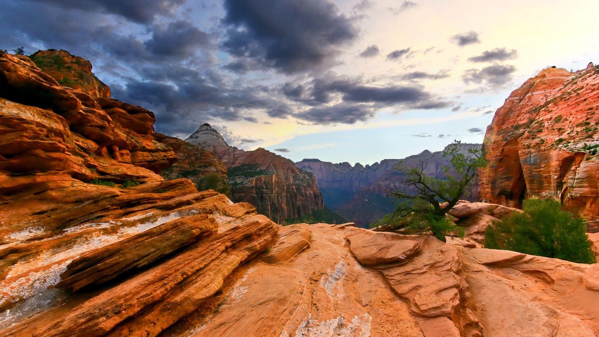 zions national park zion national park 1920x1080 752007