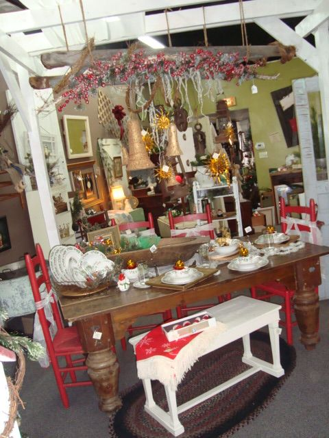 Great place for vintage home decor gifts -inside The Vintage Garden ...
