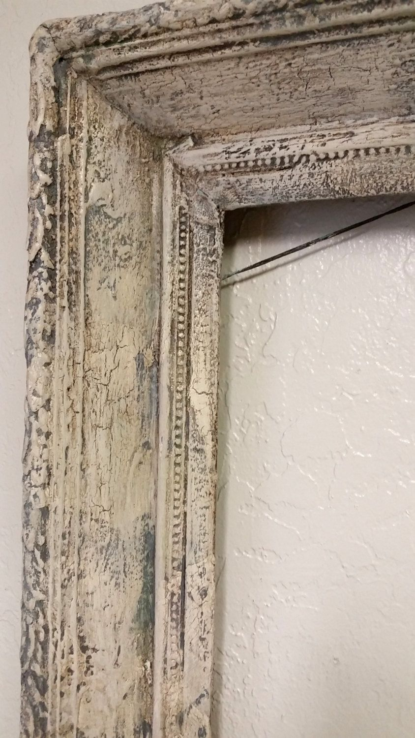Extra Large Antique Thick Picture Frame, 3 1/2 Inches Deep, Solid ...