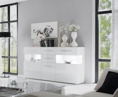 Sideboard weiss hochglanz  weiss Jetzt bestellen unter   - wohnzimmer weiß hochglanz