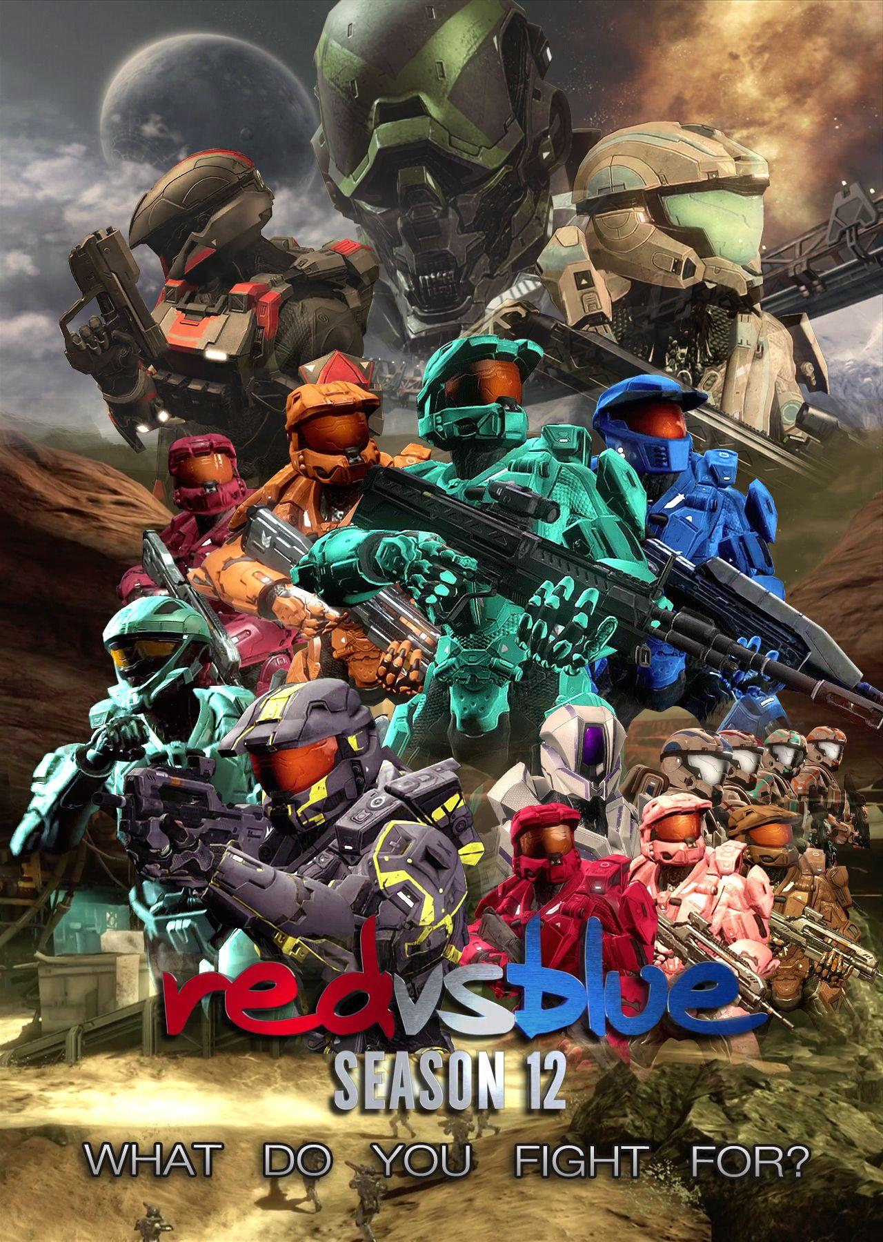 red vs blue)
