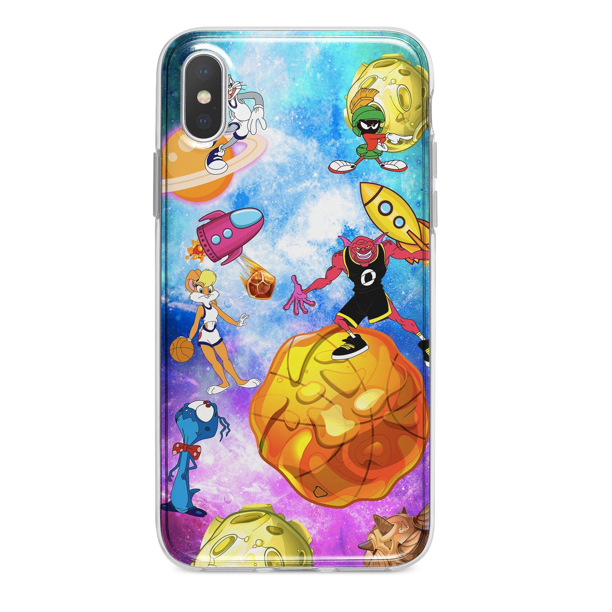 Space jam custom iphone case | Customised iphone case ...