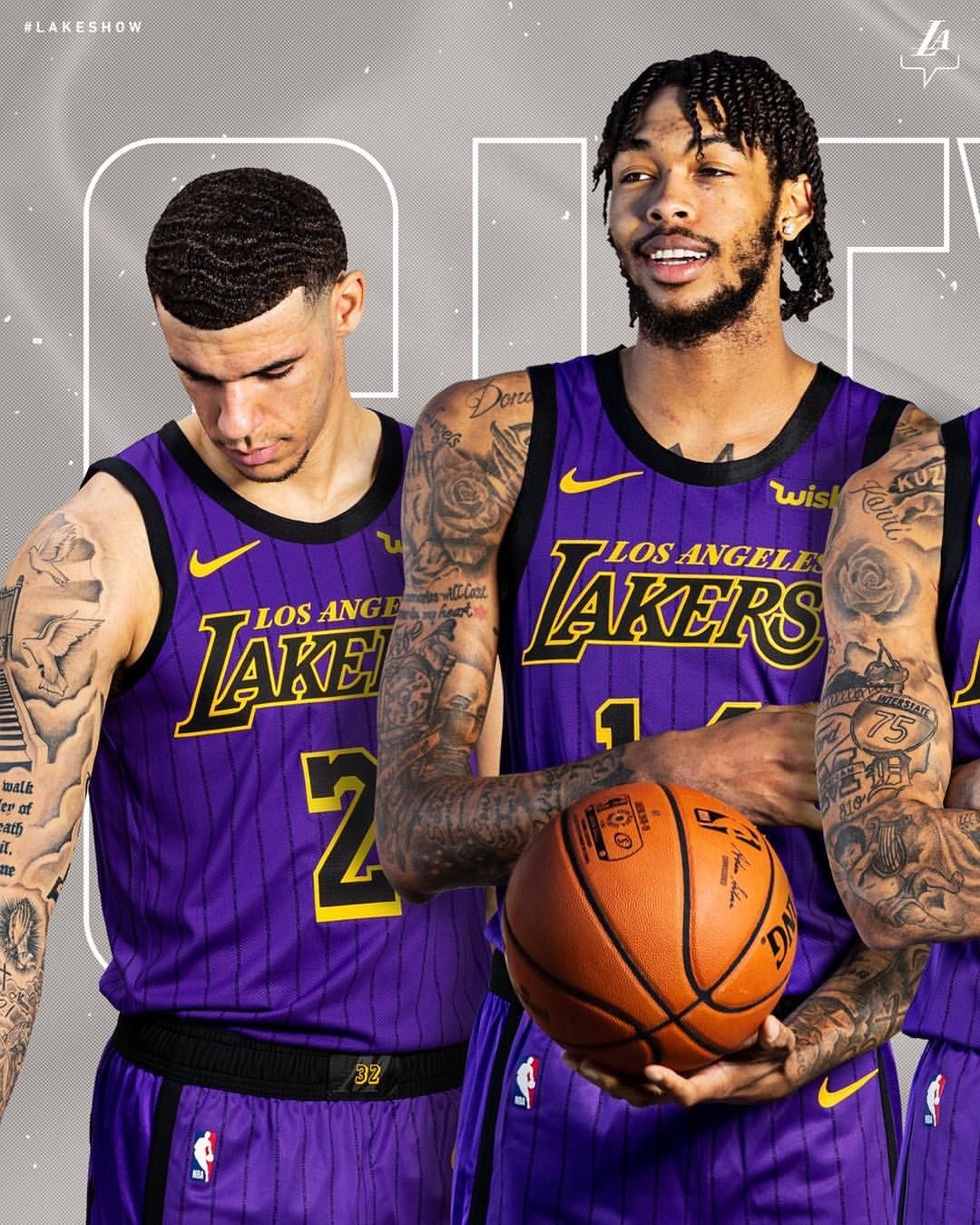 """b4f633d82cb Los Angeles Lakers on Instagram  """"The Lore Series continues. Introducing  the 2018-19  LakeShow City Edition unis"""