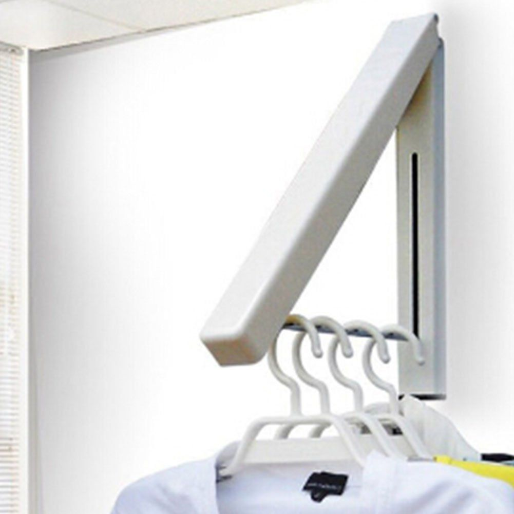 Hanger Folding Clothes,MKQPOWER 1Pcs Durable Hanger Stainless Steel ...