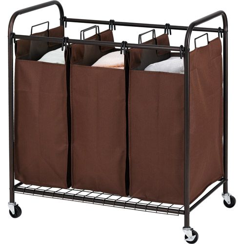 Canopy 3 Bin Sorter Laundry Sorter Laundry Better Homes And Gardens
