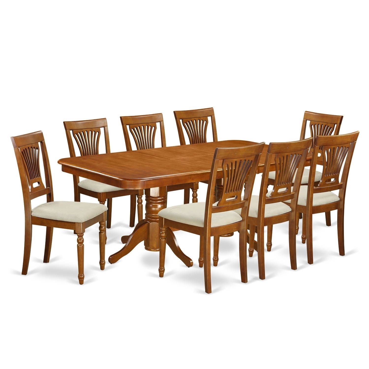 Sbr 9 Pc Dining Room Setdining Table And 8 Dining Chairs Prepossessing 8 Piece Dining Room Set Inspiration Design