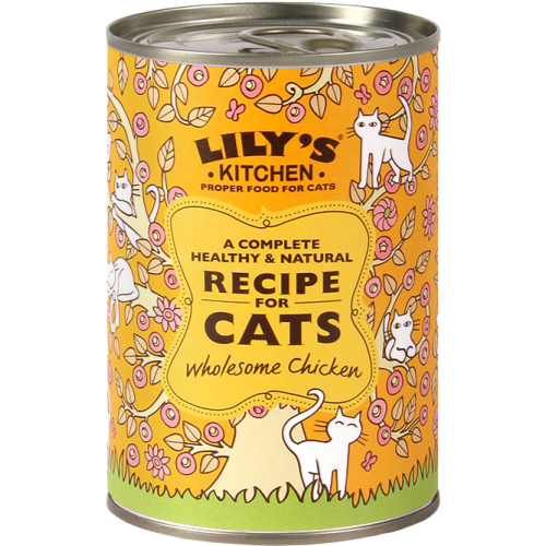Lily\'s Kitchen Wholesome Chicken for Cats 400g x 6 - buy now, just ...