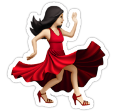 Dancing Emoji Sticker By Coffee Speech In 2020 Dance Emoji Emoji Emoji Stickers