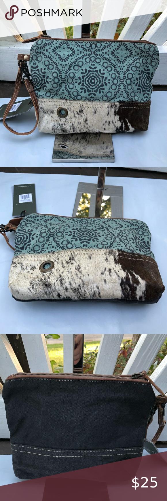 Myra Bag Small Pouch Wristlet Green Floral In 2020 Small Bags Small Pouches Bags Ladys fur handbags real mink fur bag purse bags handbag bag diagonal bag blue. pinterest