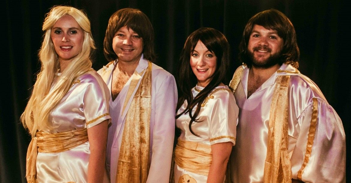 Just ABBA guarantees to entertain your audience all night long by providing a show that will truly take you back. Performing ABBA's most memorable hits, from Mamma Mia to Dancing Queen, Just ABBA will keep audiences dancing all night long. #ABBA #tribute #band #bristol