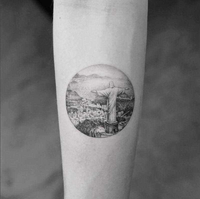 Selecao De 30 Tatuagens Para Quem Ama Viajar Tatuagens Rio De