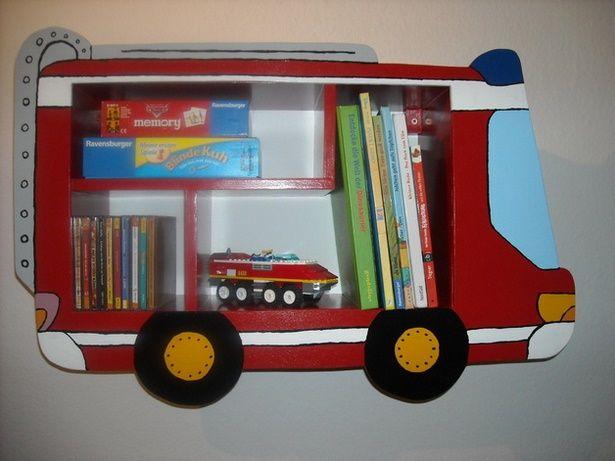 Kinderzimmer feuerwehr deko